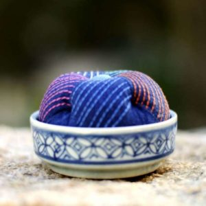 Rainbow Sashiko Pin Cushion