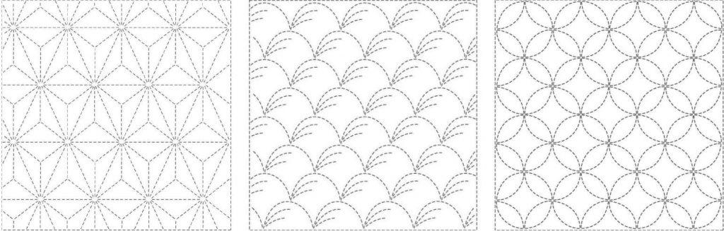 little-stabs sashiko-pattern