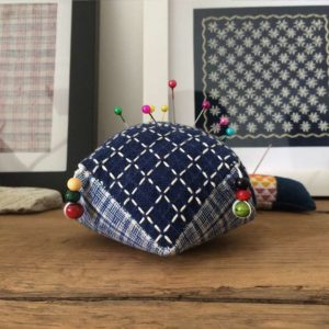 sashiko pin cushion