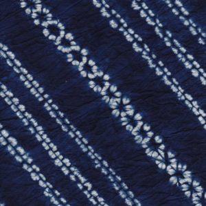 Hand Dyed Shibori Fabric Diagonal Plum