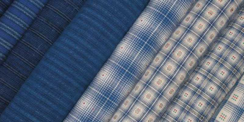 Hand woven and antique fabrics
