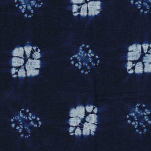 Hand Dyed Shibori Fabric Rose