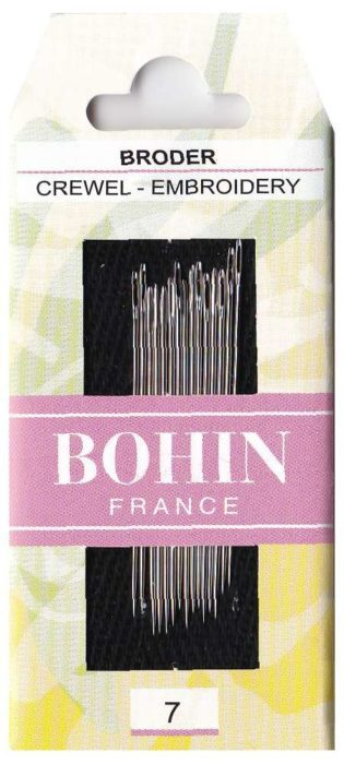Bohin Crewel Embroidery Needles #7