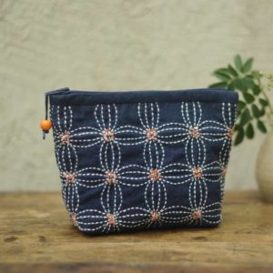 Jujube Date Leaf Cosmetic Bag