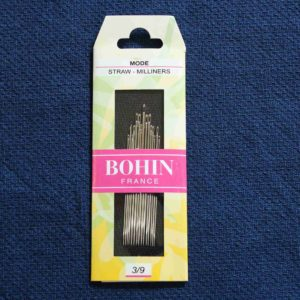 Bohin millieners needles assorted