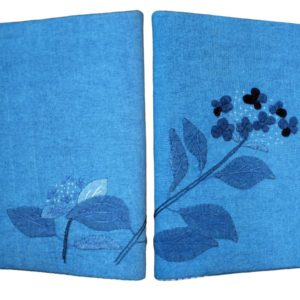 Hydrangea Book Cover Applique Kit