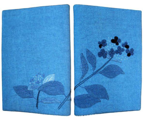 Hydrangea Book Cover Applique Kit