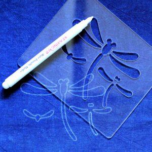 Sashiko Template Dragonflies
