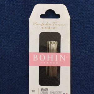 Bohin Crewel Embroidery Needles #10