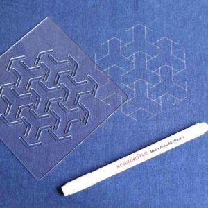 Sashiko Pattern Bishamon Tortoiseshell