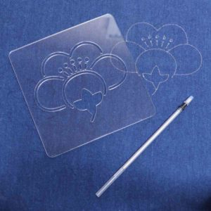 "Japanese Sashiko Pattern ""Plum Flower"""