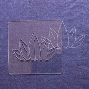 Sashiko Pattern Bamboo Leaf