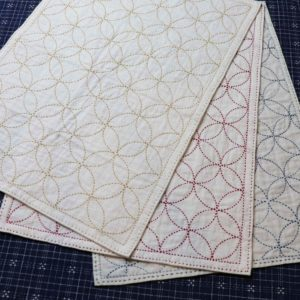 Sashiko Panel / Placemats & Napkins