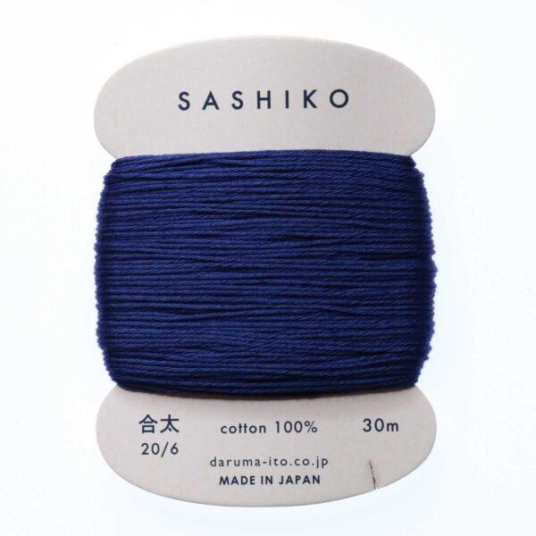 Daruma Sashiko Thread Card Indigo