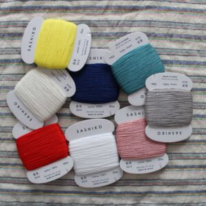 Daruma Sashiko Thread Cards